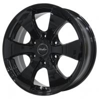 KIRCHEIS VN 16x6.5 38 139.7x6 BLACK 200系専用