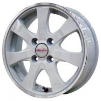 KIRCHEIS 14x4.5 43 100x4 WHITE/RIMPOLISH