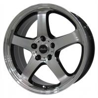 KIRCHEIS S5 18x7.5 38 114.3x5 BLACK POLISH