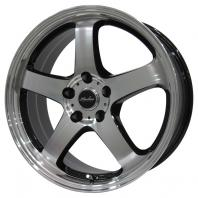 KIRCHEIS S5 18x7.5 48 114.3x5 BLACK POLISH
