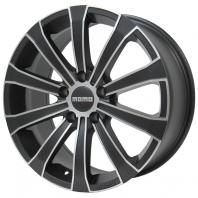 MOMO EUROPE 17x7.0 45 112x5 MATT CARBON BK-D.CUT