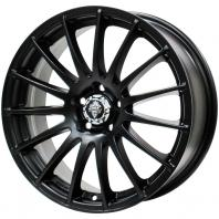 HRS H-290 17x7.0 45 100x5 MATT BLACK