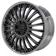 Eques EQ161D 19x9.0 45 114.3x5 Shiny BLACK POLISH
