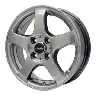 KIRCHEIS S5 14x5.5 45 100x4 METALLIC GRAY