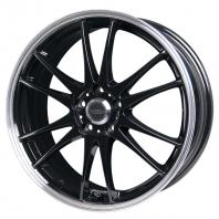 CROSS SPEED PREMIUM-6Light 17x7.0 48 114.3x5 BK/リム