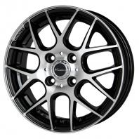 CROSS SPEED XM 16x5.0 45 100x4 BK/P