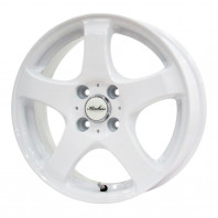 KIRCHEIS S5 14x5.5 38 100x4 WHITE
