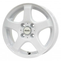 KIRCHEIS S5 15x4.5 43 100x4 WHITE
