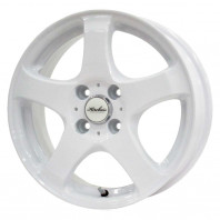 KIRCHEIS S5 15x5.5 50 100x4 WHITE