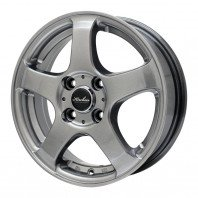 KIRCHEIS S5 15x4.5 43 100x4 METALLIC GRAY