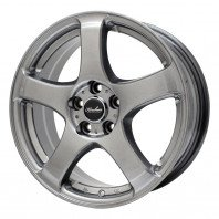 KIRCHEIS S5 15x6.0 45 100x5 METALLIC GRAY + HIFLY Win-turi 212 205/65R15 94H スタッドレス【セール品】