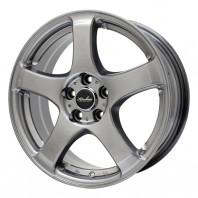 KIRCHEIS S5 15x6.0 50 114.3x5 METALLIC GRAY + HIFLY Win-turi 212 205/65R15 94H スタッドレス【セール品】