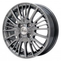 Verthandi YH-S25 15x4.5 45 100x4 METALLIC GRAY + NANKANG AS-1 165/45R15 72V XL