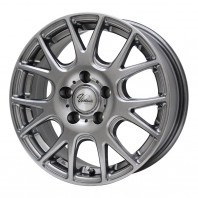 Verthandi YH-M7 15x6.0 43 114.3x5 METALLIC GRAY + MOMO NORTH POLE W-2 205/65R15 94H スタッドレス【セール品】