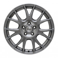 【タイヤ&ホイール17インチ4本セット】【Verthandi YH-M7 17x7.0 48 114.3x5 METALLIC GRAY】+【 NANKANG AS-1 195/45R17 85H XL】