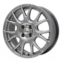 Verthandi YH-M7 13x5.0 36 100x4 METALLIC GRAY + MOMO NORTH POLE W-1 155/80R13 79T スタッドレス【セール品】