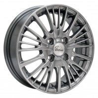 Verthandi YH-S25 16x6.5 45 100x4 METALLIC GRAY + MOMO NORTH POLE W-2 185/55R16 87V XL スタッドレス
