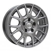 Verthandi YH-M7 16x6.5 38 114.3x5 METALLIC GRAY + MOMO NORTH POLE W-2 205/60R16 96H XL スタッドレス セール品