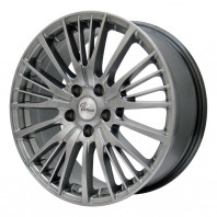 Verthandi YH-S25 16x6.5 38 114.3x5 METALLIC GRAY + RADAR Dimax ICE 215/55R16 97T XL スタッドレス【セール品】