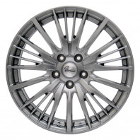 Verthandi YH-S25 16x6.5 45 114.3x5 METALLIC GRAY + MOMO NORTH POLE W-2 205/60R16 96H XL スタッドレス セール品