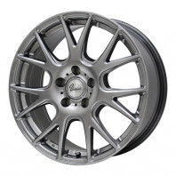 Verthandi YH-M7 18x7.5 38 114.3x5 METALLIC GRAY + RADAR Dimax ICE 225/40R18 92T XL スタッドレス