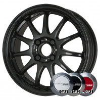 WORK EMOTION 11R 17x7.0 47 100x4 MBL + NANKANG SV-2 215/40R17 87V XL スタッドレス【セール品】