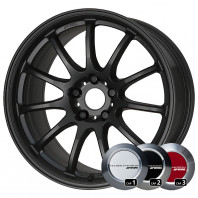 WORK EMOTION 11R 17x7.0 38 114.3x5 MBL + NANKANG SV-2 215/40R17 87V XL スタッドレス【セール品】