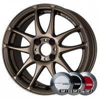 WORK EMOTION CR KIWAMI 17x7.0 38 100x4 AHG + NANKANG SV-2 215/40R17 87V XL スタッドレス【セール品】