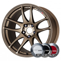 WORK EMOTION CR KIWAMI 18x8.5 47 114.3x5 AHG + NANKANG ESSN-1 255/35R18 94Q XL スタッドレス【セール品】
