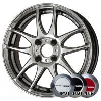 WORK EMOTION CR KIWAMI 17x7.0 38 100x4 GTS + NANKANG SV-2 215/40R17 87V XL スタッドレス【セール品】