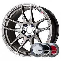 WORK EMOTION CR KIWAMI 17x7.0 38 114.3x5 GTS + NANKANG SV-2 215/40R17 87V XL スタッドレス【セール品】