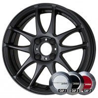 WORK EMOTION CR KIWAMI 17x7.0 47 100x4 MBL + NANKANG SV-2 215/40R17 87V XL スタッドレス【セール品】