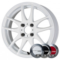 WORK EMOTION CR KIWAMI 17x7.0 47 100x4 WHT + NANKANG SV-2 215/40R17 87V XL スタッドレス【セール品】