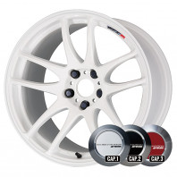 WORK EMOTION CR KIWAMI 18x8.5 38 114.3x5 WHT + NANKANG ESSN-1 255/35R18 94Q XL スタッドレス【セール品】