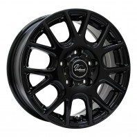 Verthandi YH-M7 16x6.5 38 114.3x5 BLACK + MOMO NORTH POLE W-2 205/60R16 96H XL スタッドレス セール品