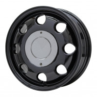 LUMACA MODEL-2 13x4.0 42 100x4 BLACK + GOODYEAR ICE NAVI 6 155/65R13 73Q スタッドレス