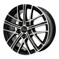 Verthandi YH-S15 16x6.5 38 114.3x5 BK/POLISH + MOMO NORTH POLE W-2 195/50R16 88V XL スタッドレス セール品