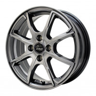 Verthandi PW-S8 15x5.5 43 100x4 METALLIC GRAY + MOMO NORTH POLE W-1 175/60R15 81H スタッドレス【セール品】