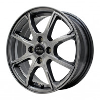 Verthandi PW-S8 15x5.5 50 100x4 METALLIC GRAY + MOMO NORTH POLE W-1 175/60R15 81H スタッドレス【セール品】