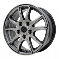 Verthandi PW-S10 15x6.0 45 100x5 METALLIC GRAY + RADAR Dimax ALPINE 185/65R15 92T XL スタッドレス
