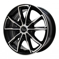 Verthandi PW-S10 15x6.0 45 100x5 BK/POLISH + MOMO NORTH POLE W-1 185/60R15 84H スタッドレス【セール品】