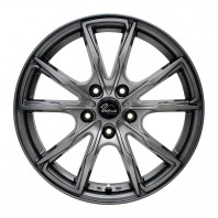 Verthandi PW-S10 16x6.5 38 114.3x5 METALLIC GRAY + ZEETEX WP1000 215/65R16 102H XL スタッドレス【セール品】