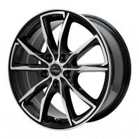 Verthandi PW-S10 16x6.5 38 114.3x5 BK/POLISH + MOMO NORTH POLE W-2 195/50R16 88V XL スタッドレス セール品