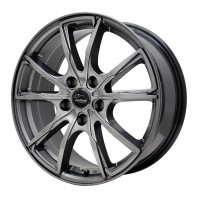 Verthandi PW-S10 16x6.5 48 114.3x5 METALLIC GRAY + ZEETEX WP1000 195/60R16 89H スタッドレス【セール品】