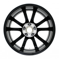 Verthandi PW-S10 17x7.0 48 114.3x5 BK/POLISH + MOMO NORTH POLE W-2 205/55R17 91V スタッドレス