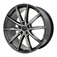 LUXALES PW-X2 20x8.5 38 114.3x5 TITANIUM GRAY + NANKANG AS-1 255/45R20 105W XL