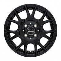 Verthandi YH-M7V 14x4.5 45 100x4 BLACK + MOMO NORTH POLE W-1 155/65R14 75T スタッドレス【セール品】