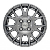 Verthandi YH-M7V 15x4.5 45 100x4 METALLIC GRAY + MOMO NORTH POLE W-1 165/65R15 81T スタッドレス【セール品】
