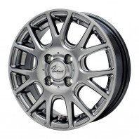 Verthandi YH-M7V 15x4.5 45 100x4 METALLIC GRAY + NANKANG AS-1 165/45R15 72V XL