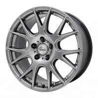 Verthandi YH-M7V 16x6.5 50 114.3x5 METALLIC GRAY + MOMO NORTH POLE W-2 205/45R16 87V XL スタッドレス セール品